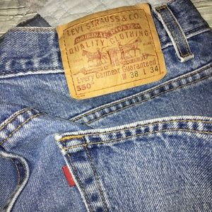 Vintage 90s Levi's 550 Relaxed Fit Jeans